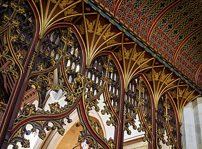 Photograph - Altar Arches  by Shirley Mitchell