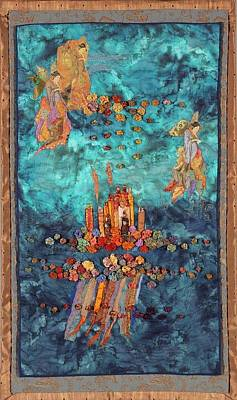 Tapestry - Textile - Altar At Sea by Roberta Baker