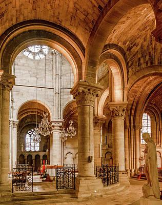 Photograph - Poissy, France - Altar, Notre-dame De Poissy by Mark Forte