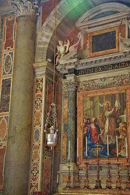 Photograph - Altar Of St. Gregory The Great by JAMART Photography
