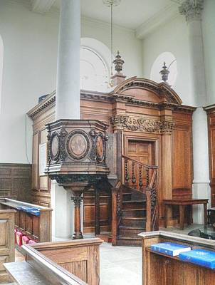 Photograph - Altar Of St Mary Of Aldermanbury by David Bearden
