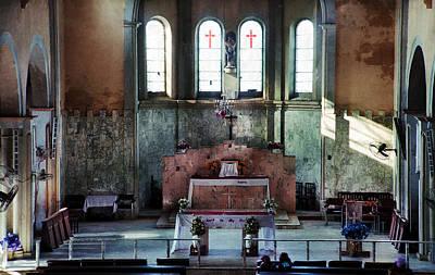 Photograph - Altar St. Joseph Asaba by Muyiwa OSIFUYE