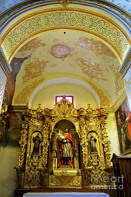 Pastor Photograph - Altarpiece. San Anton Church. Granada. 1534 by Guido Montanes Castillo