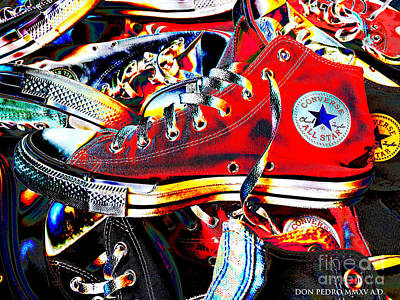 Converse Digital Art - Alte Convieh Gathering by Don Pedro De Gracia