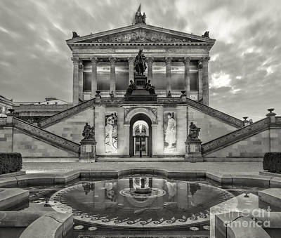 Berlin Photograph - Alte Nationalgalerie by Julie Woodhouse