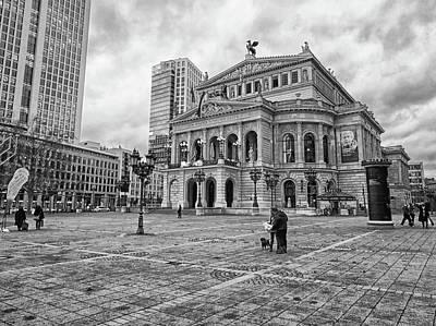 Photograph - Alte Oper Frankfurt Am Opernplatz by Paul Mc Namara