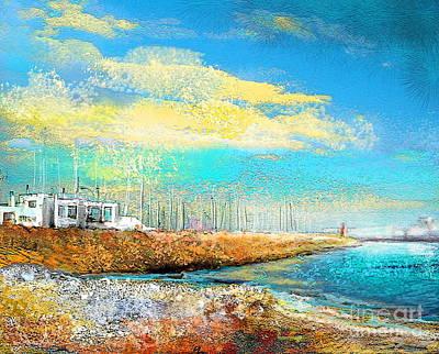 Altea Painting - Altea 04 by Miki De Goodaboom