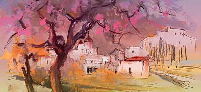 Altea Painting - Altea La Vieja In Spain 18 by Miki De Goodaboom