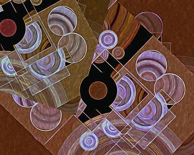 Digital Art - Altered States 33 by Lynda Lehmann