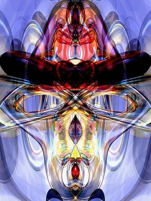 Altered States Abstract Print by Alexander Butler