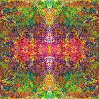 Fireworks Mixed Media - Altered States Of Consciousness #1534 by Rainbow Artist Orlando L aka Kevin Orlando Lau