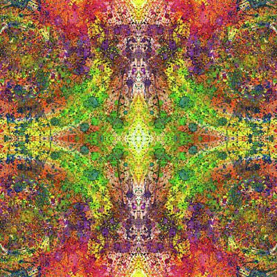 Fireworks Mixed Media -  Altered States Of Consciousness #1537 by Rainbow Artist Orlando L aka Kevin Orlando Lau