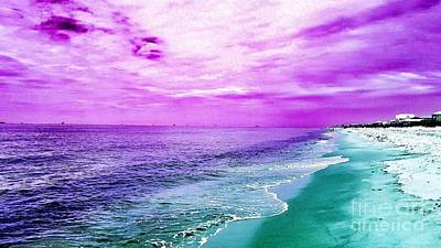 Photograph - Alternate Beach Escape by Rachel Hannah