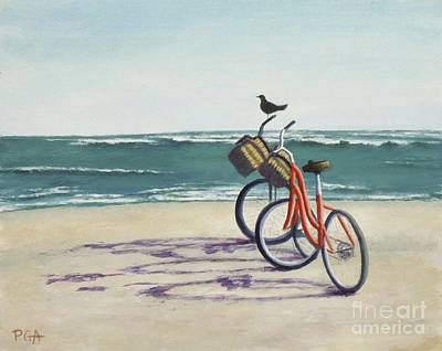 Painting - Alternate Transportation by Phyllis Andrews