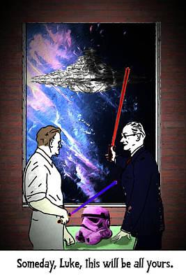 Digital Art - Alternate Universe Episode Vi by John Haldane