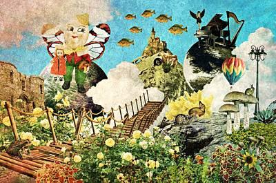 Popular Mixed Media - Alternative Fairy Tales by Ally  White