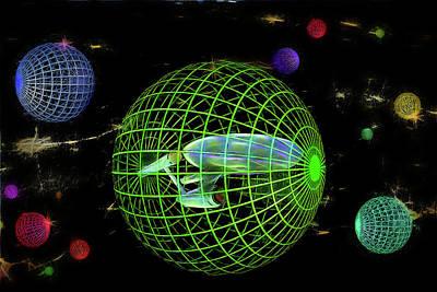 Digital Art - Alternative Reality by John Haldane