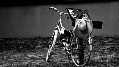Photograph - Altes Fahrrad Old Bicycle by Eva-Maria Di Bella