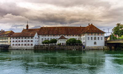 Photograph - Altes Spital, Old Hospital, Solothurn, Switzerland by Elenarts - Elena Duvernay photo