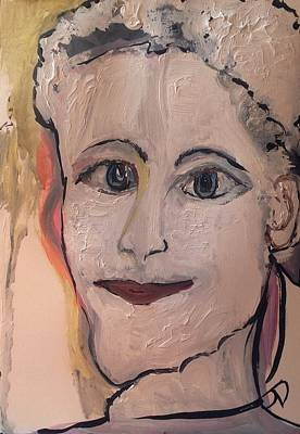 Painting - Although He Loved The Housekeeper He Had Never Told Her  by Judith Desrosiers