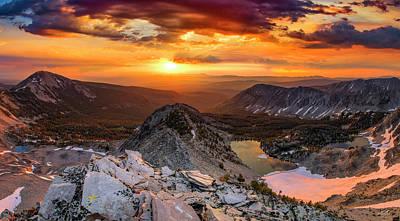 Photograph - Inspiring Sunrise  by Leland D Howard