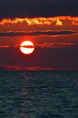 Photograph - Alto Stratus Sunrise  by Lyle Crump