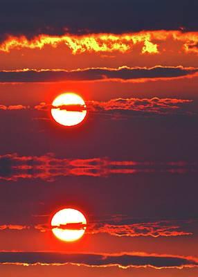 Digital Art - Alto Stratus Sunrise Three  by Lyle Crump
