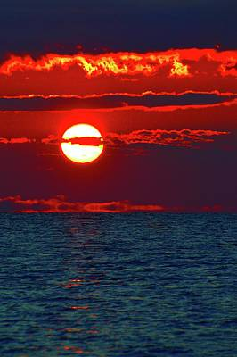 Photograph - Alto Stratus Sunrise Two  by Lyle Crump
