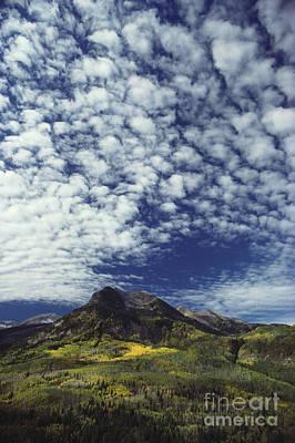 Photograph - Altocumulus Cloud by Brenda Tharp