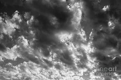 Photograph - Altocumulus Perlucidus  by Jim Corwin