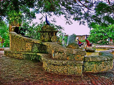 Altos De Chavon. Fountains. Original