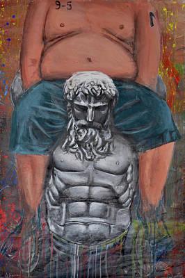 Ayn Rand Wall Art - Painting - Altruism by Srdjan Markovic