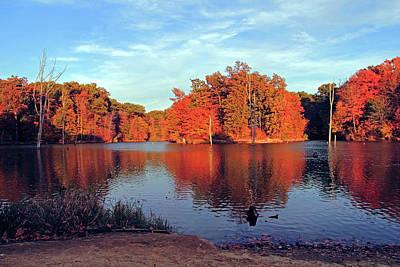 Alum Creek Landscape Art Print