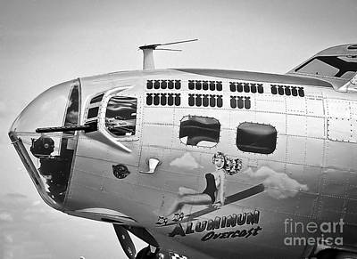 Photograph - Aluminum Overcast - B-17 by Ricky L Jones