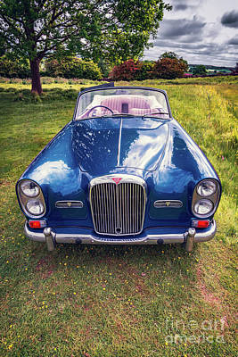 Photograph - Alvis Classic Car by Adrian Evans