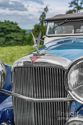 Photograph - Alvis Speed 25 by Adrian Evans