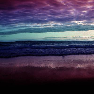Always A Horizon Art Print by Bonnie Bruno