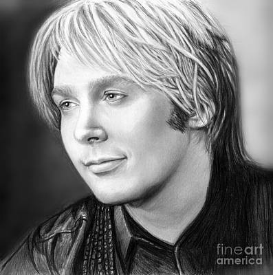 Clay Drawing - Always Clay For His Fans by Carliss Mora