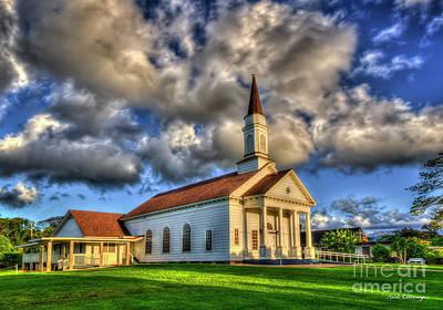 Photograph - Always Faithful Old Koloa Church Koloa Kauai Hawaii Collection Art by Reid Callaway