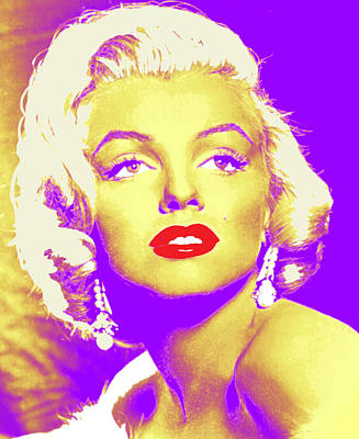 Always Marilyn Art Print by Joy McKenzie