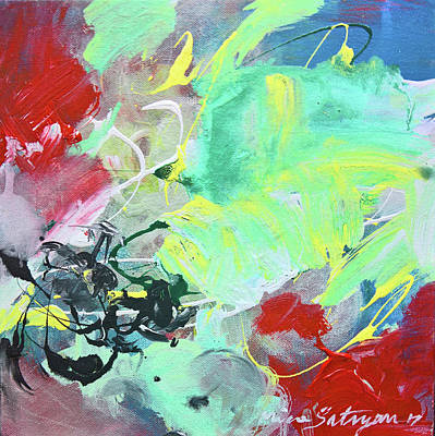 Painting - Always Ocean by Mira Satryan