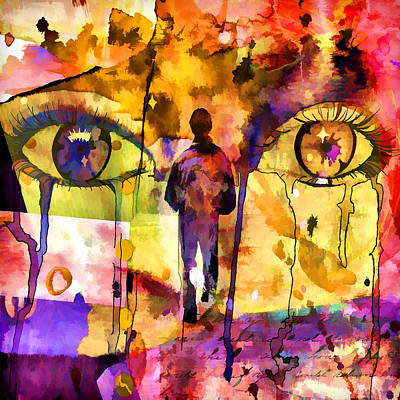 Inner Self Digital Art - Always On My Mind I  by Ronald Bolokofsky