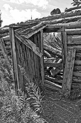 Photograph - Always Open - Monochrome by Cathy Mahnke