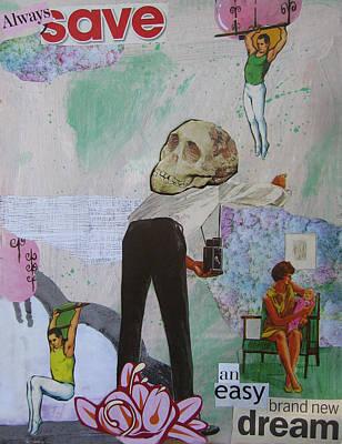 Always Save An Easy Brand New Dream Art Print by Adam Kissel