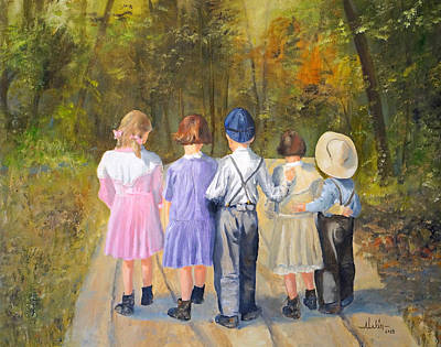 Always Together Art Print by Alan Lakin
