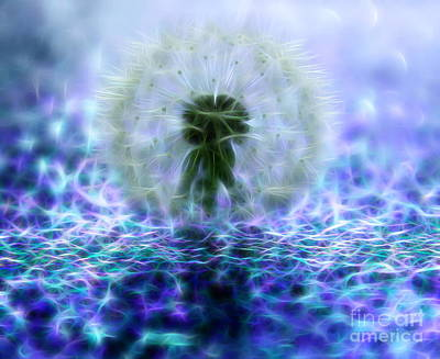 Weed Digital Art - Always Wishing by Krissy Katsimbras