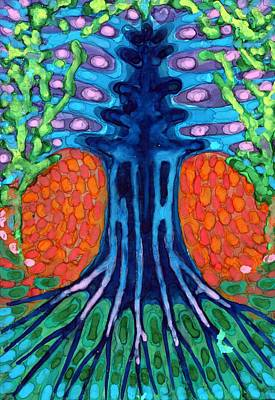 Vibrance Painting - Always Young by Wojtek Kowalski