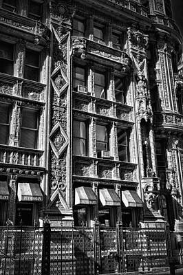Photograph - Alwyn Court Building Detail 14 by Val Black Russian Tourchin