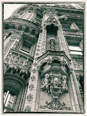 Photograph - Alwyn Court Facade by Jessica Jenney