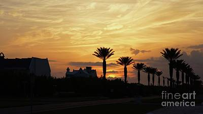 Alys Beach Photograph - Alys At Sunset by Megan Cohen